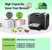 JARBO Reemplazar por HP 932XL 933XL Cartuchos de tinta (4 Negro, 2 Cian, 2 Magenta, 2 Amarillo) gran capacidad para HP Officejet 6600 6700 6100 7612 ...