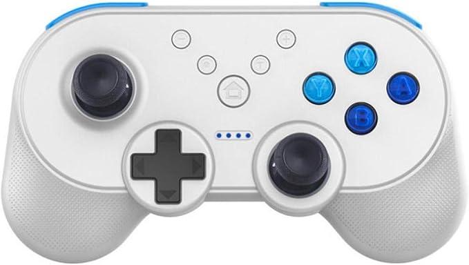 Tsthyz Mini Gamepad Controlador De Juegos Inalámbrico Bluetooth Para Iphone / Android Controlador De Juegos Para Teléfono Smart Tv Para Pc (Negro): Amazon.es: Videojuegos