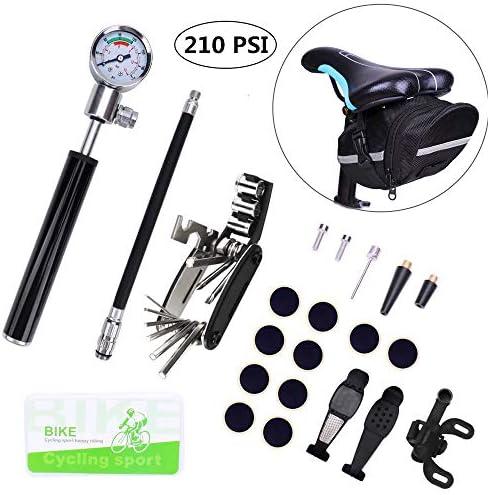 ZOL Mini Multi-Functional Bicycle Bike Tire Pump and Ball Pump