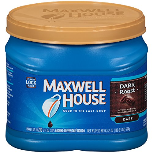 Maxwell House Dark Roast Ground Coffee (24.5 oz -