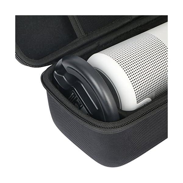 Khanka Dur Cas étui de Voyage Housse Porter pour bose soundLink Revolve Enceinte Bluetooth S'adapte Socle 5
