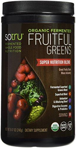 SoTru Fermented Fruitful Greens Supplement product image