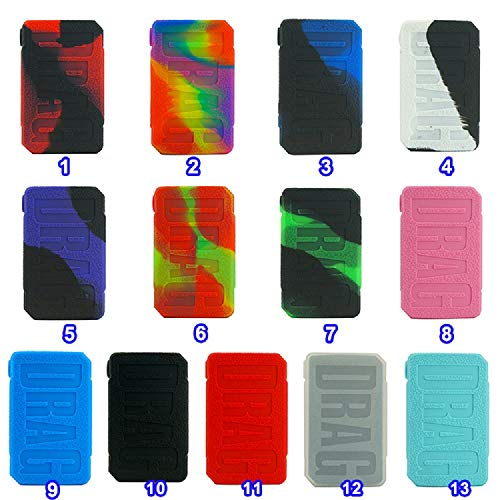 Silicone Case for DRAG MINI 117W Voopoo Cover Sleeve Mod Skin Wrap TOP QUALITY