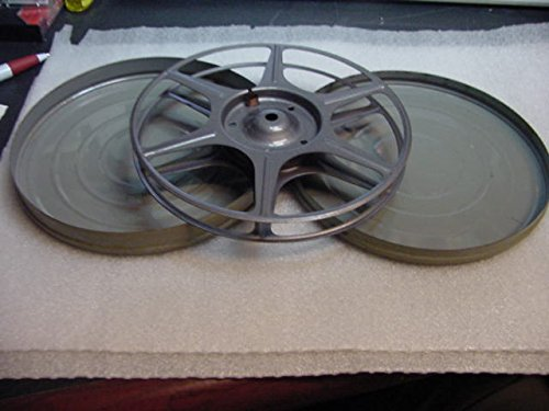 16mm 16 mm 7 Inch Take Up Film Reel And 7 Inch Metal Storage Container. (Metal Film Containers)