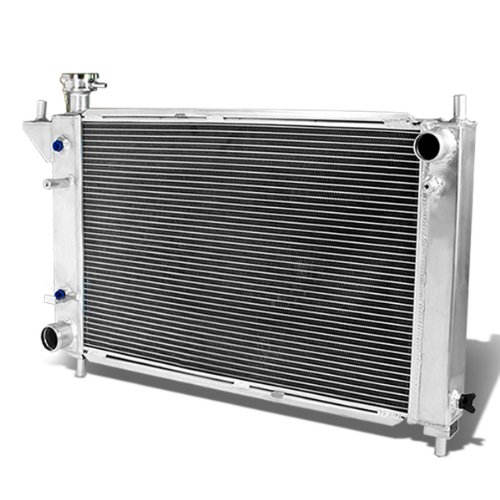 For Ford Mustang Full Aluminum 3-row Racing Radiator - 4 Gen Automatic AT only