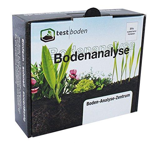 Bodenanalyse auf Nährstoffe für den Garten - Bodentester auf die wichtigsten Bodennährstoffe, Mineralstoffe, Spurenelemente, inkl. pH Bodentest - Bodenanalyse Set mit eigener Probenahme und professionellem Bodentest im Labor