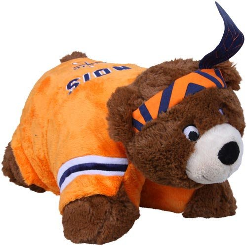 Fabrique Innovations NCAA Pillow Pet, Illinois Illini