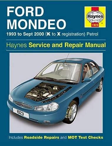 ford mondeo petrol 93 sept 00 k to x haynes service and repair rh amazon com Chilton Repair Manuals PDF Ford Focus Repair Manual Online