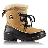 SOREL Youth Unisex Tivoli III Non Shell Boot, Size: 4.5 M US Big Kid, Color Curry/Black