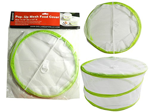 Large Pop-Up Mesh Food Cover Size: 11.75'' Dia x 5.5'' H , Case of 144