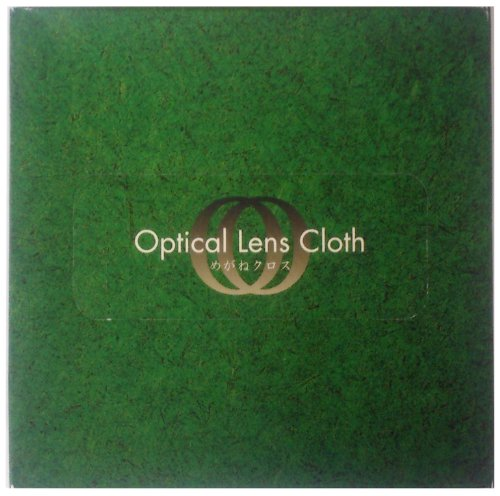 Optical Lens Cloth めがねクロス 60枚入 ホワイト