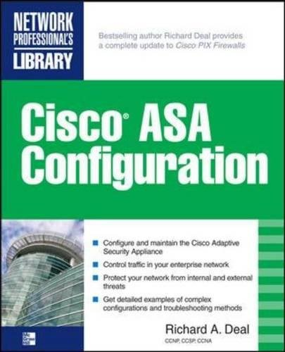 Firewall Configuration (Cisco ASA Configuration (Networking Professional's Library))