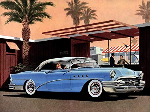 11 x 14 Inch Puzzle 252 Pcs 1956 Buick Advertising ()