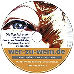 Wer Zu Wem Cd 2010 Die Top 10000 Der Wichtigsten Deutschen
