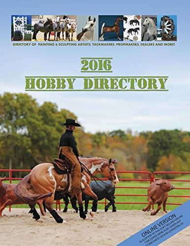 2016 Ingram version Hobby Directory: Print on demand from Ingram Spark Shipped Direct to Customer