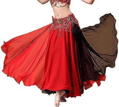 Tribal Gypsy motony Danza del Vientre Larga Maxi Slit Falda Sexy ...