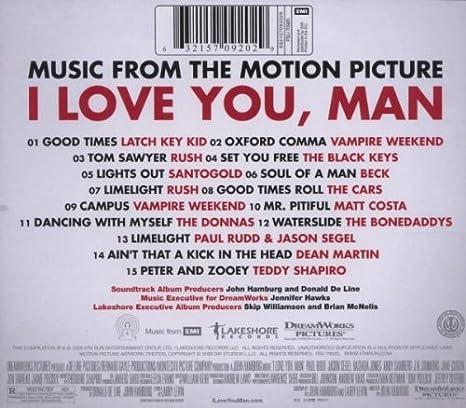 man i love you soundtrack