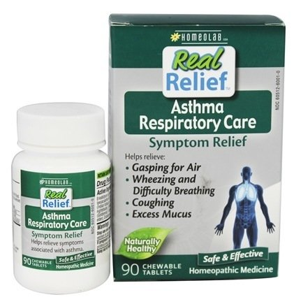 HOMEOLAB REAL RELIEF ASTHMA, 90 TABS - 90 Chewable Tabs