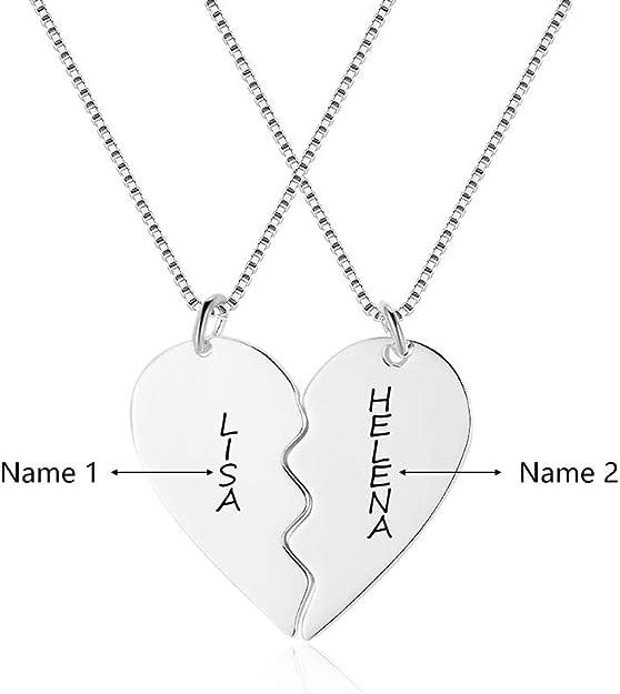 mon collier prenom couple