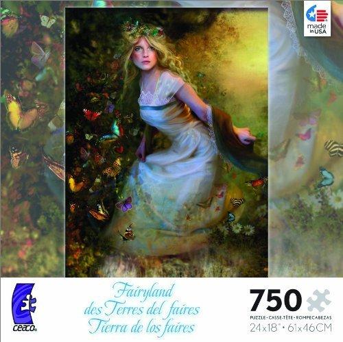 Fairyland Summer Dancer Jigsaw Puzzle by Ceaco