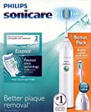 Philips Sonicare Series 2 Essence Rechargeable Toothbrush with Bonus E Series Brush Head