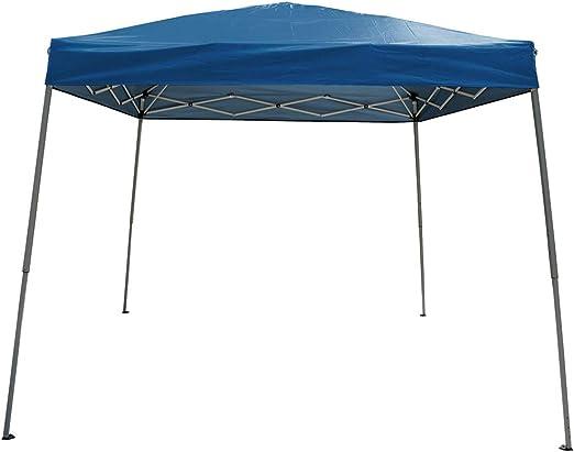 Polar Aurora 10 X 10 5 Color oblicuo pierna Pop Up Popup fácil de instalar Fiesta Parasol Tienda de campaña: Amazon.es: Jardín