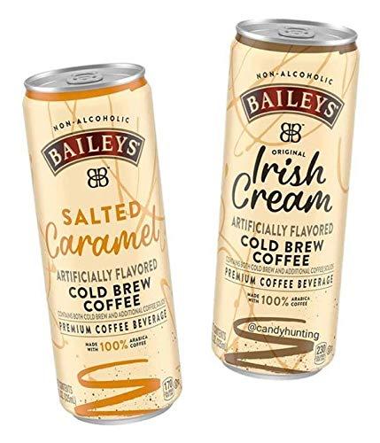 Baileys Non-Alcoholic Cold Brew Coffee, 11 fl oz 6 Cans (2 Flavor Combo)