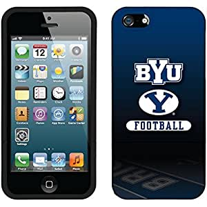 Coveroo iPhone 6 plus 5.5 Black Slider Case with Brigham Young Football Field Design