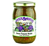 Jake & Amos Green Tomato Relish 16 oz. (3 Jars)