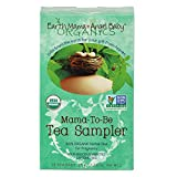 Earth Mama Angel Baby Organic Mama-To-Be Tea Sampler, 16 Teabags/Box  (Pack of 3)