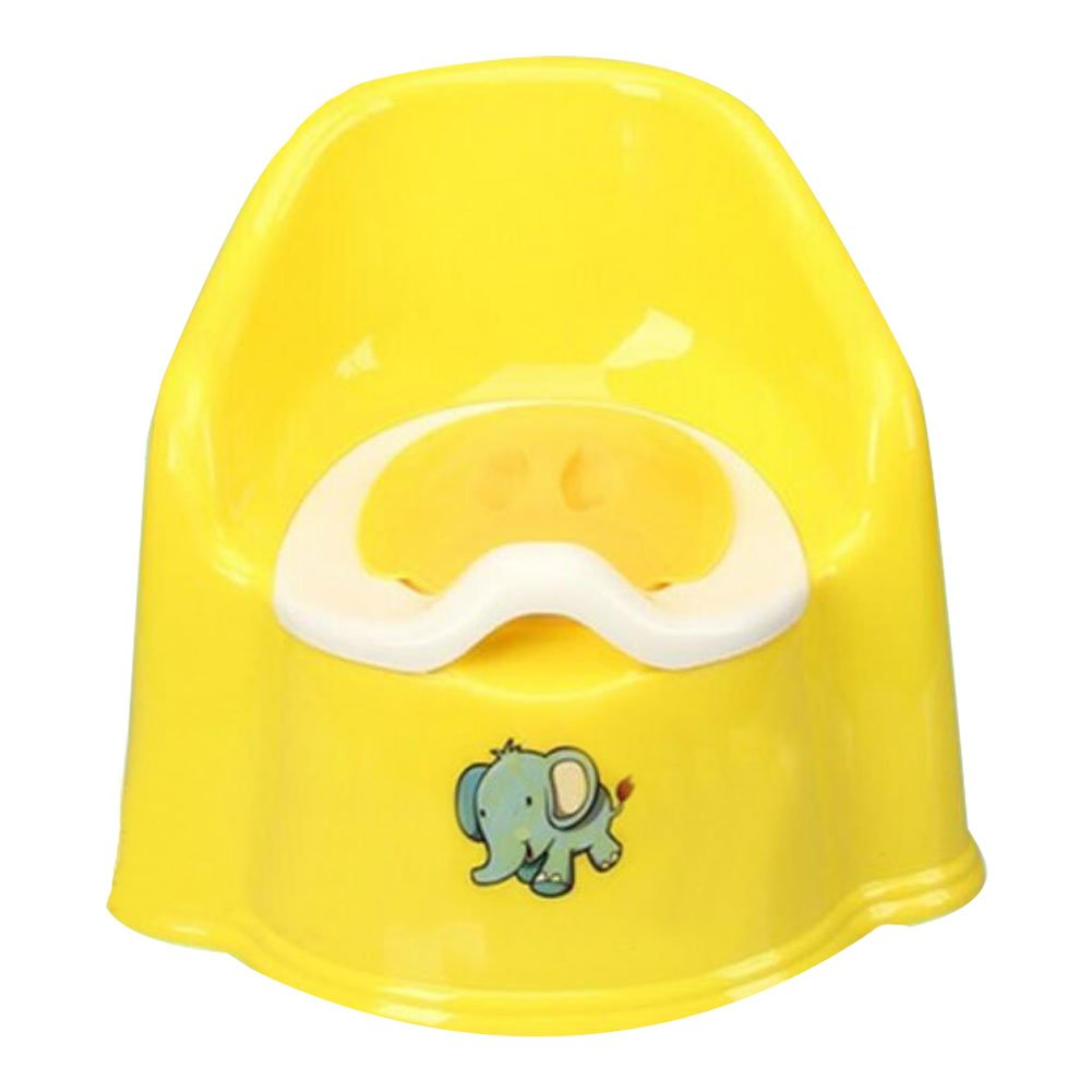 George Jimmy Baby Potty Chair Potty Training Boy Toilet Seats Bathroom Accessories Yellow