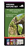 Virginia Nature Set: Field Guides to Wildlife, Birds, Trees & Wildflowers of Virginia