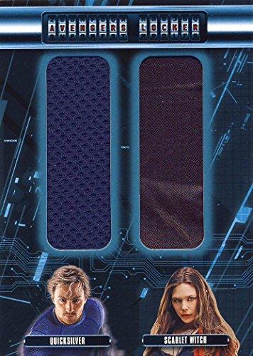 [2015 Upper Deck UD Age of Ultron Trading Cards Avengers Locker Wardrobe/Costume Card AL2-PW Quicksilver Scarlet Witch] (Age Of Ultron Quicksilver Costume)
