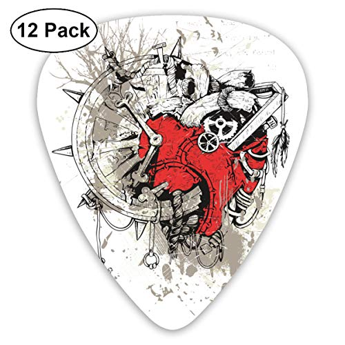 Beatthebox Heart And Arrow Anatomical Heart Blessed Guitar Picks Cardiovascular Disease,heart Arrow Graffiti ()