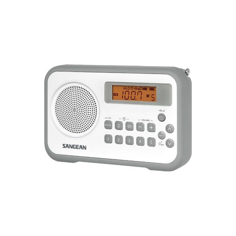 Sangean PR-D18GR AM/FM/Clock Portable Di