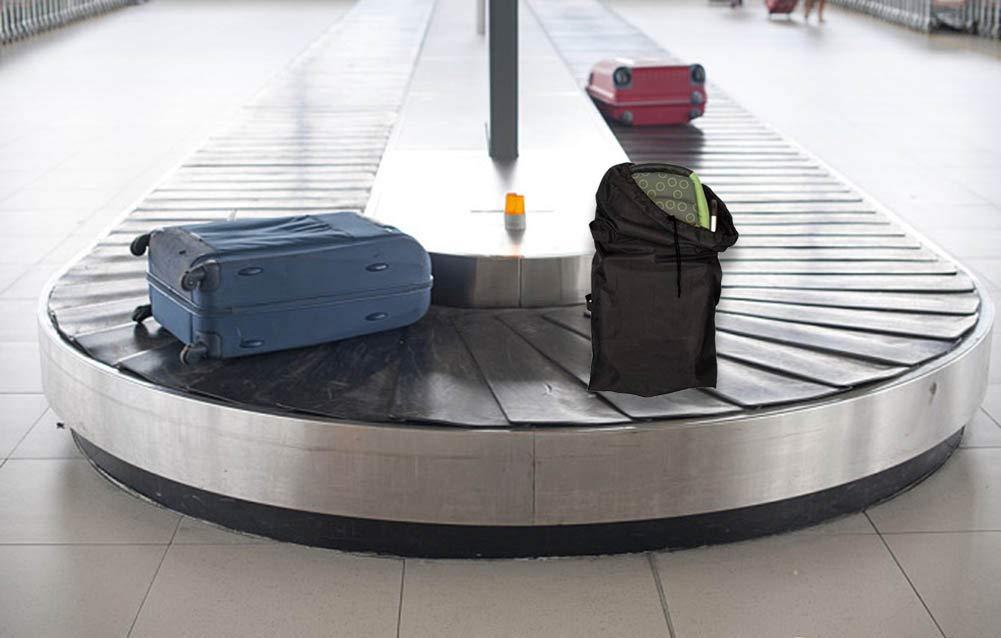 Dsaren Bolsa de Viaje Cochecito Bolsa Transporte Silla Paseo para Cochecitos de Beb/é para Avi/ón Viaje Coche A