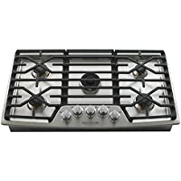LG Signature Kitchen Suite 30 Stainless Steel Gas Cooktop UPCG3054ST