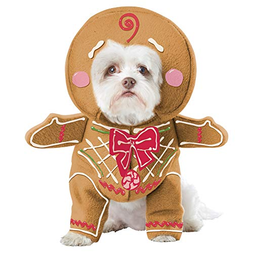 Gingerbread Dog Costume Cute Halloween Dog Cosplay Costume