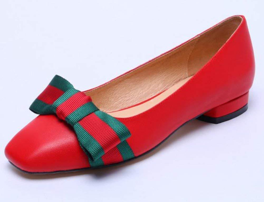 Fuxitoggo Die Krankenschwester Kürbis - Schuhe,Rot,34 (Farbe   Wie Gezeigt Größe   Einheitsgröße)