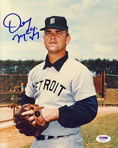 - Denny McLain Signed Detroit Tigers 8x10 Photo PSA/DNA