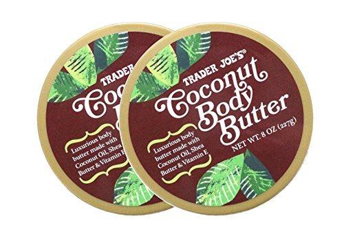 - 2 Packs Trader Joe's Coconut Body Butter
