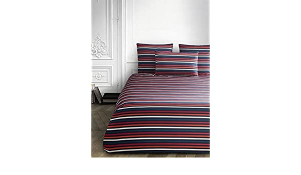04510362d4 Amazon.com: Sonia Rykiel of Paris Standard Striped Sham Rue Saint Guillaume  Poppy Red 100% Cotton: Home & Kitchen