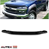 AUTEX Bug Deflector Fits for 2004-2012 CHEVROLET COLORADO/GMC CANYON Bug Shields Hood Protector