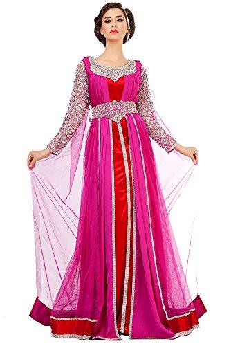 kkpf1023 palasfashion Kleid marokkanischen Tunika Damen WxnFqY67