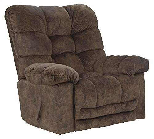 - Catnapper Bronson Chaise Rocker Recliner - Chestnut