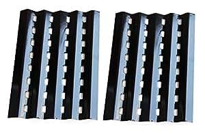 Hongso ppz242(lote de 2) Brinkmann Gas parrilla placa de calor de repuesto para parrillas modelo Lowes (163/8