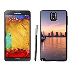 NEW Custom Diyed Diy For SamSung Note 3 Case Cover Phone With Summer Sunset In New York_Black Phone