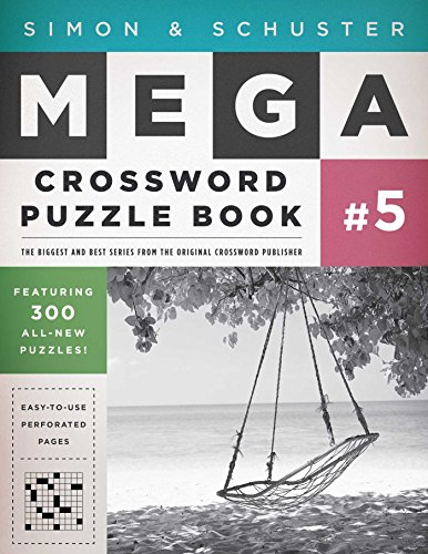 Simon & Schuster Mega Crossword Puzzle Book #5 (S&S Mega Crossword Puzzles)