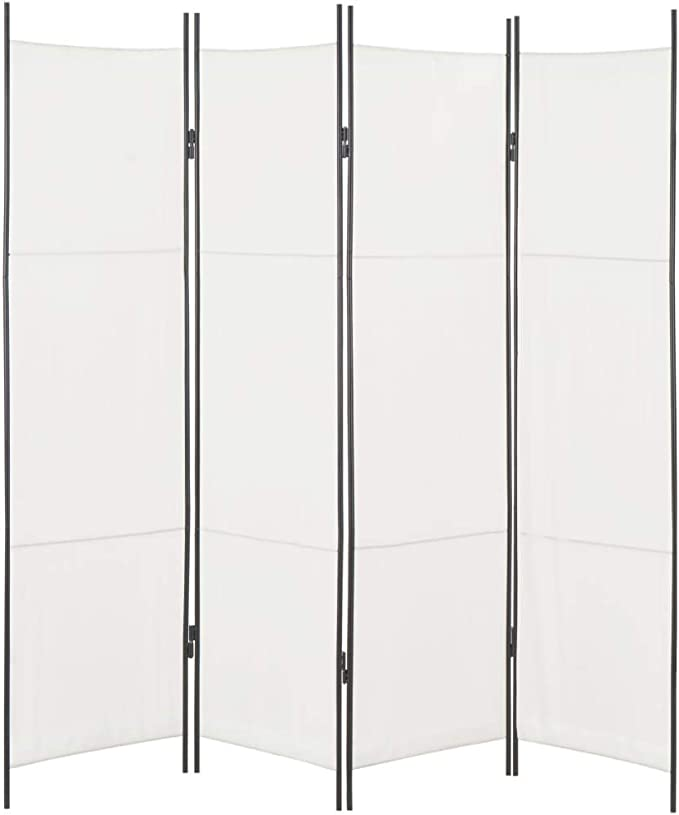 vidaXL Biombo Divisor de 4 Paneles 200x180 cm Hogar Interior ...