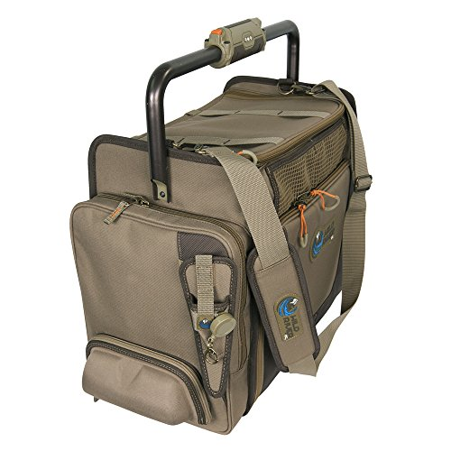 Wild River by CLC Custom Leathercraft WT3702 Tackle Tek Frontier Lighted Handle Bar Tackle Bag, Fishing Bag with Five PT3700 Trays by Custom Leathercraft (Image #2)